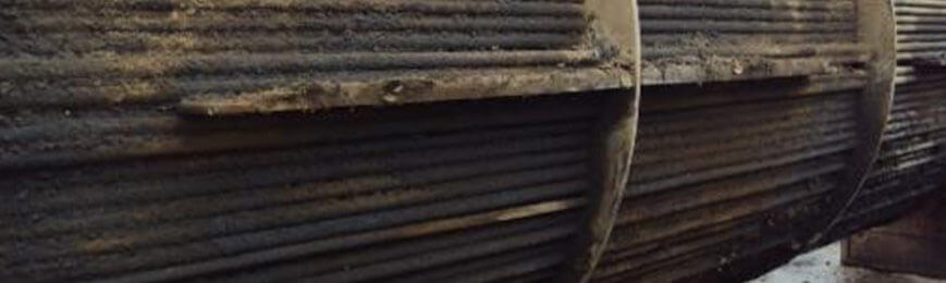Example of soiling on Quench Oil Exchangers.